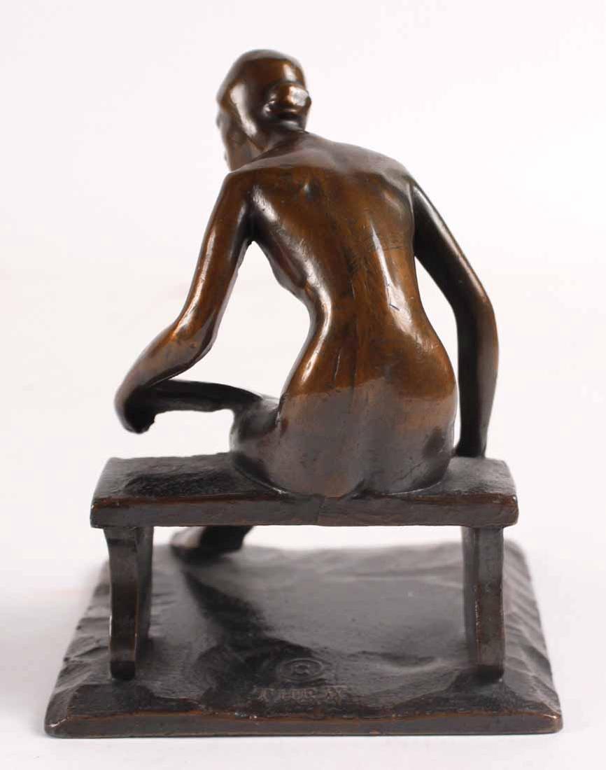 Bronze Nude, Robert Garret Thew - 10