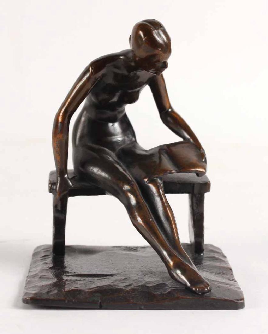 Bronze Nude, Robert Garret Thew