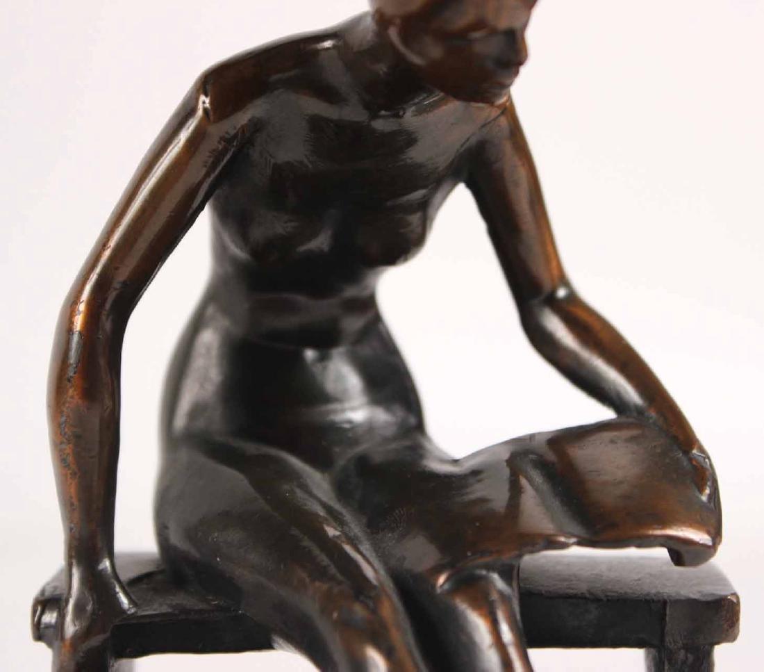 Bronze Nude, Robert Garret Thew - 9
