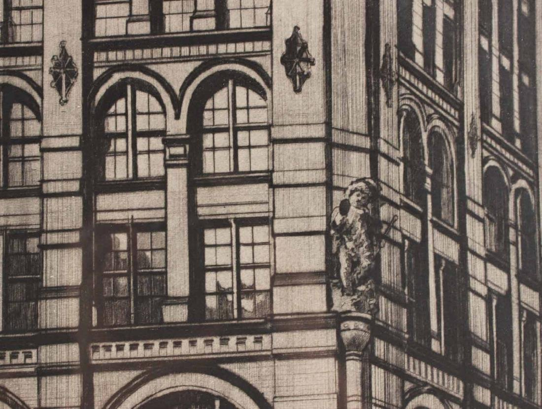 Etching, Richard Haas, Puck Building - 7