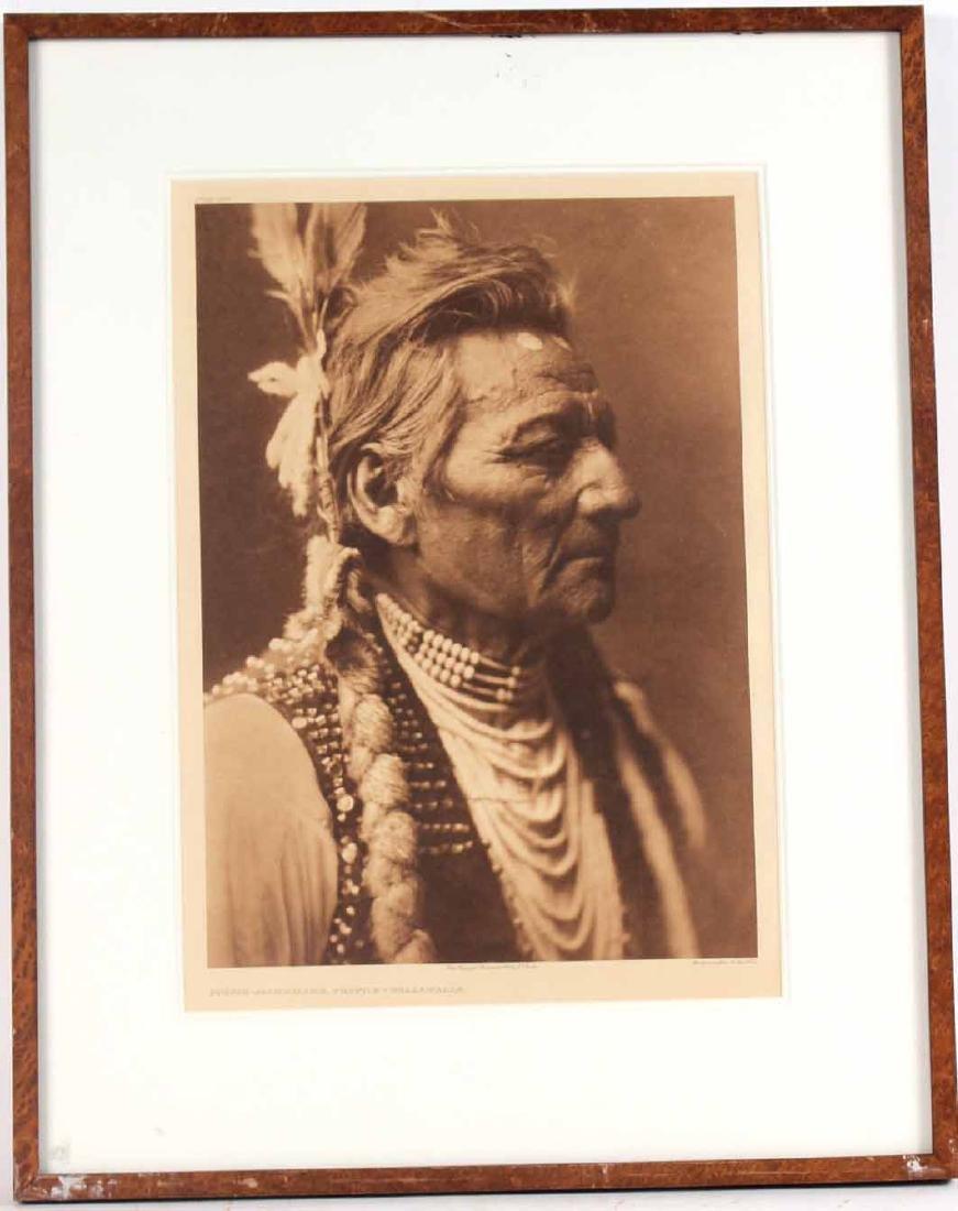 Print, Edward Sheriff Curtis, Native American
