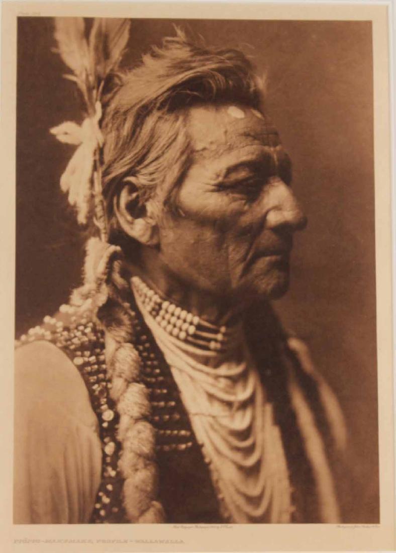 Print, Edward Sheriff Curtis, Native American - 2