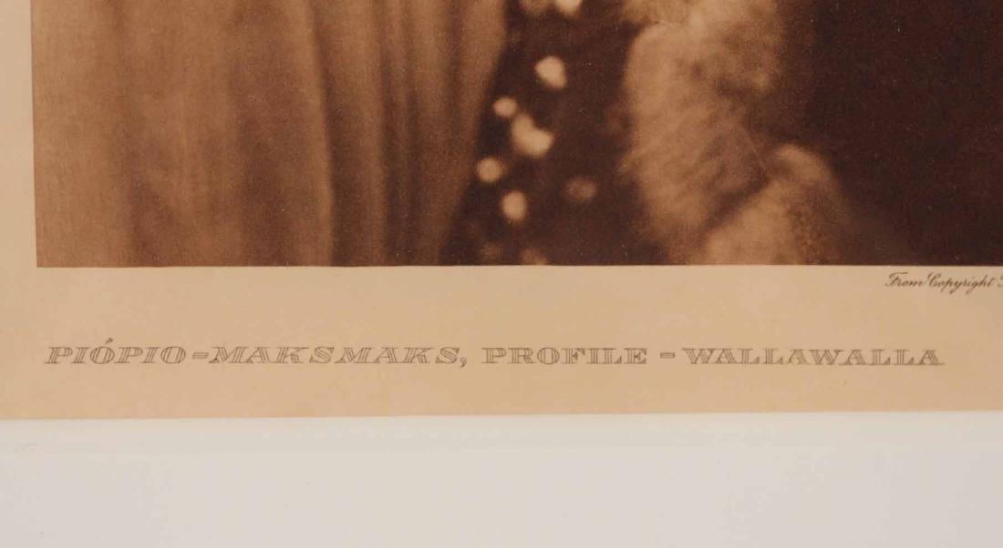 Print, Edward Sheriff Curtis, Native American - 3