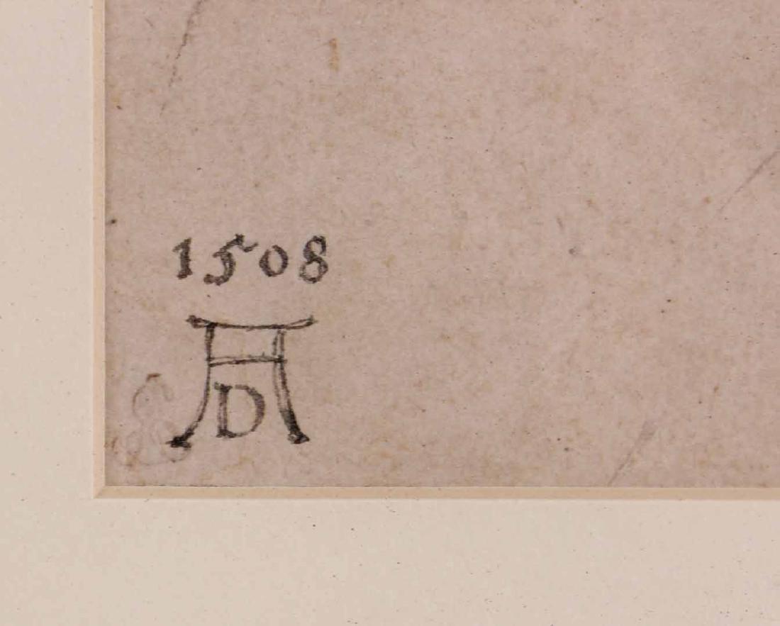 Two Prints, Albrecht Durer, Owl and Rabbit - 5