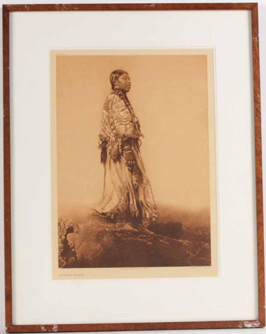 Print, Edward Curtis, Wishham Woman