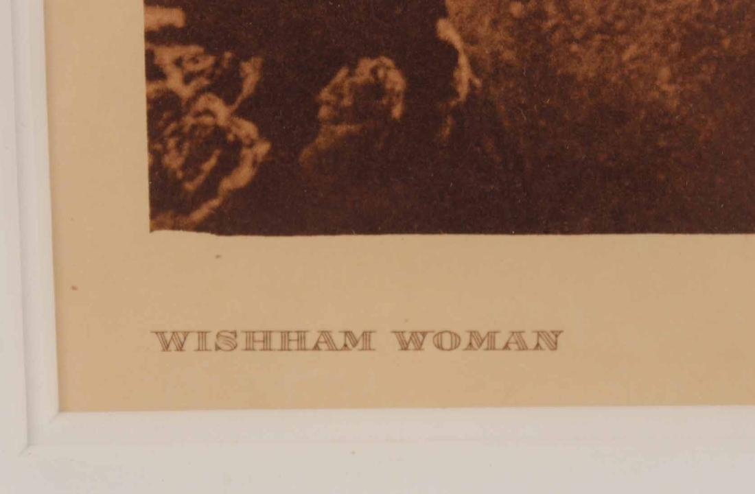 Print, Edward Curtis, Wishham Woman - 4