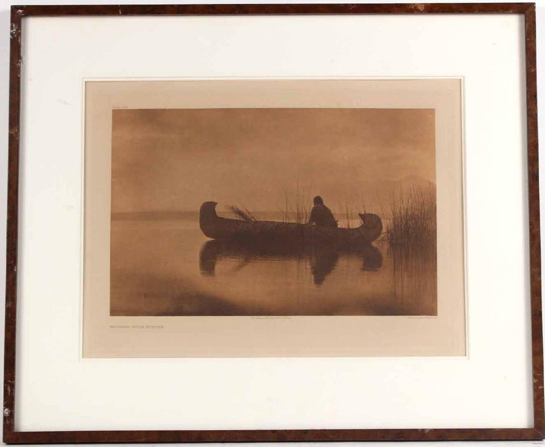 Print, Edward Curtis, Kutenai Duck Hunter