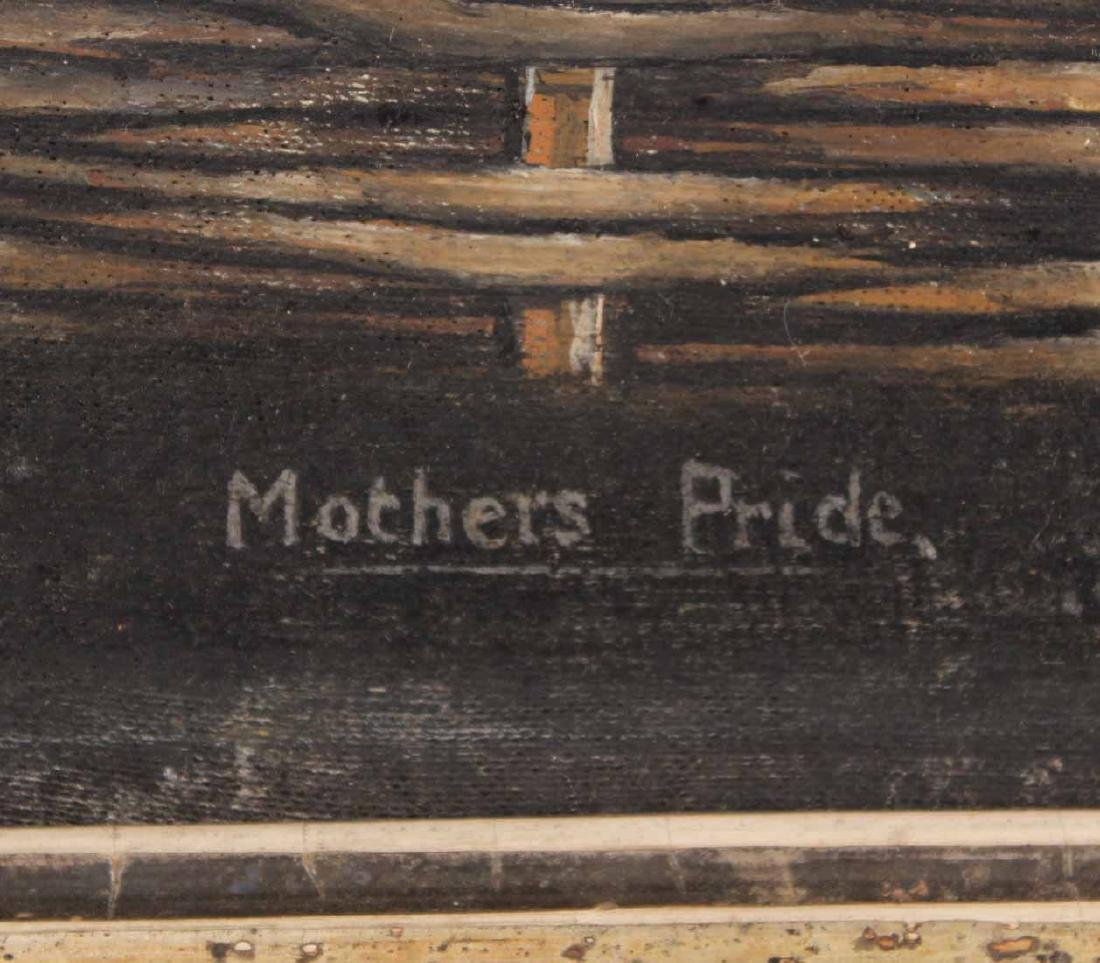 "Oil on Canvas, ""Mother Pride,"" - 3"