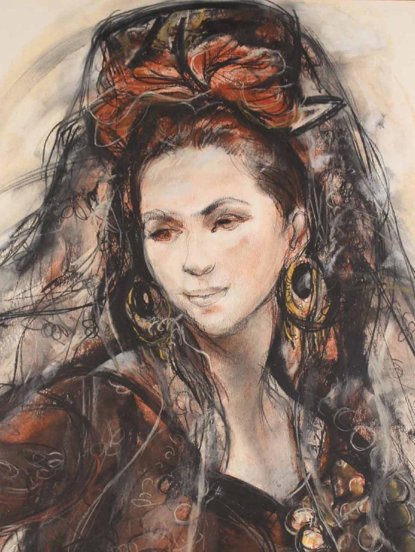 Mixed Media, Spanish Lady, Sheldon Schoneberg - 4