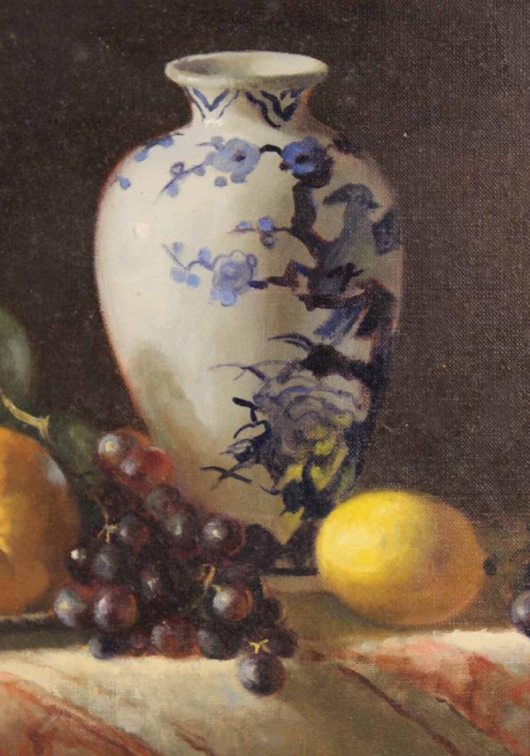 Oil on Canvas, Still Life with Fruit, Joan Potter - 5