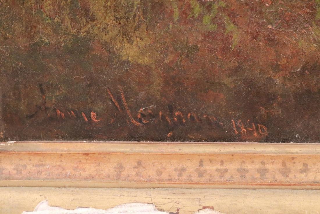 Oil on Canvas, Woodland Interior - 8