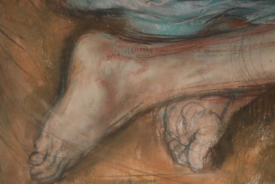 Mixed Media, Female Nude, Sheldon Schoenberg - 7
