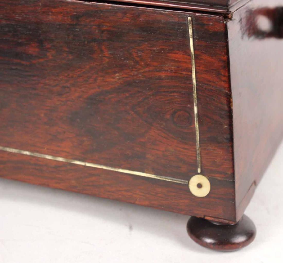 Regency Style Mahogany Document Box - 3