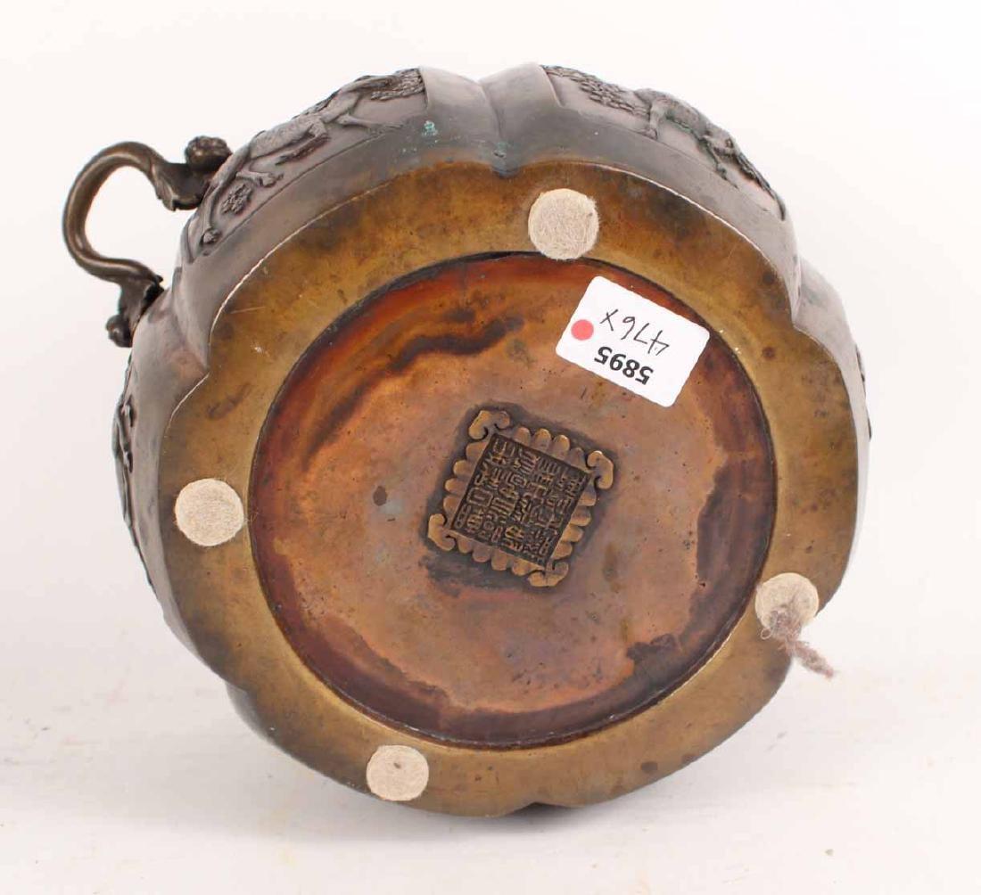 Chinese Bronze Incense Burner - 6