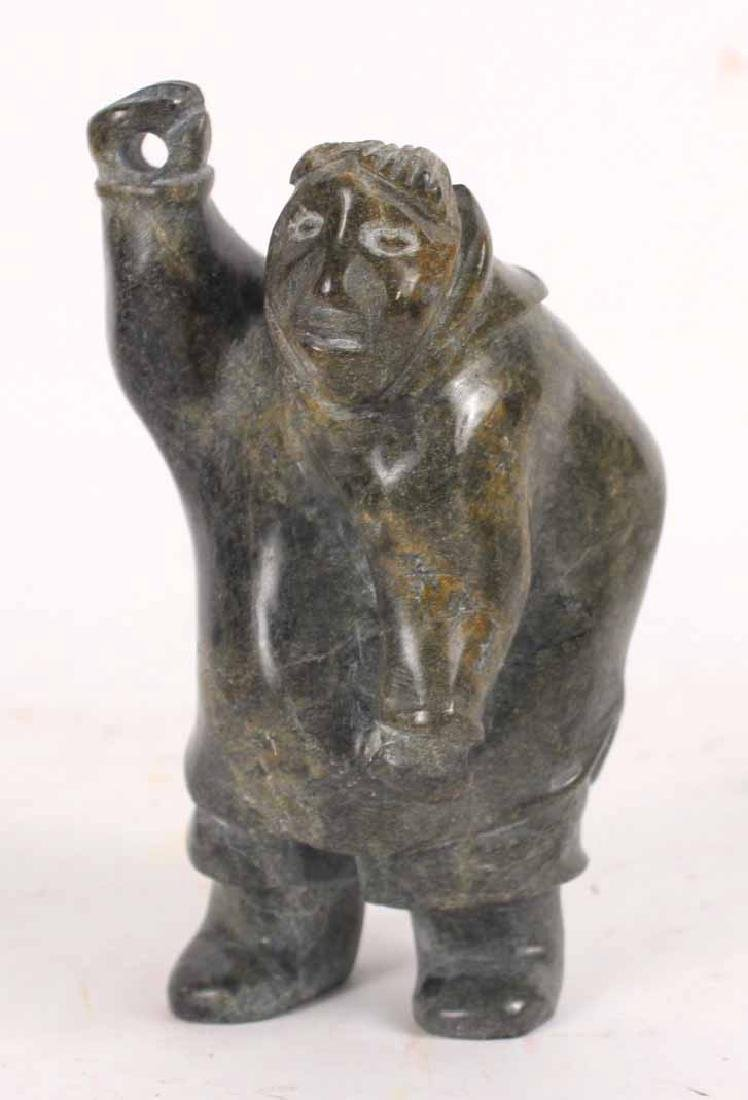 Inuit Carved Stone Sculpture