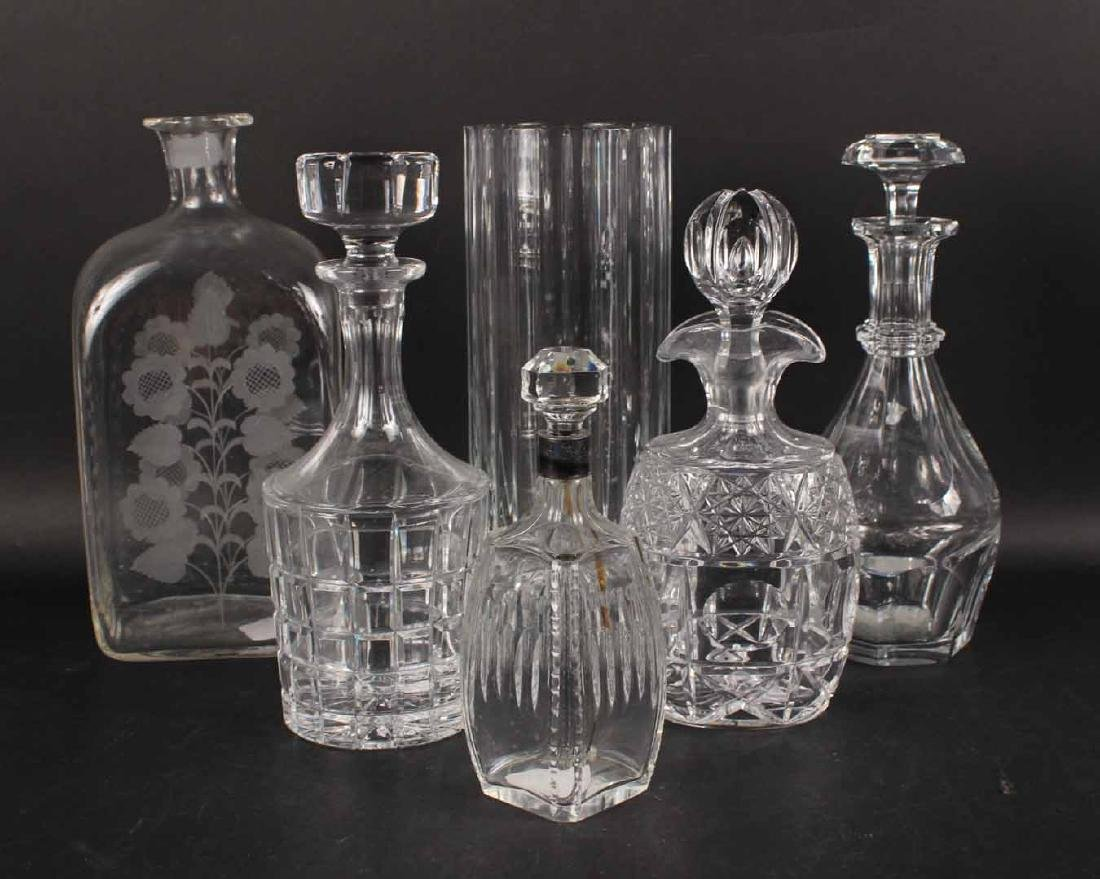 Baccarat Crystal Vase and Decanter