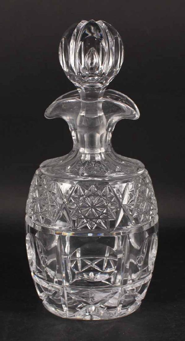 Baccarat Crystal Vase and Decanter - 4