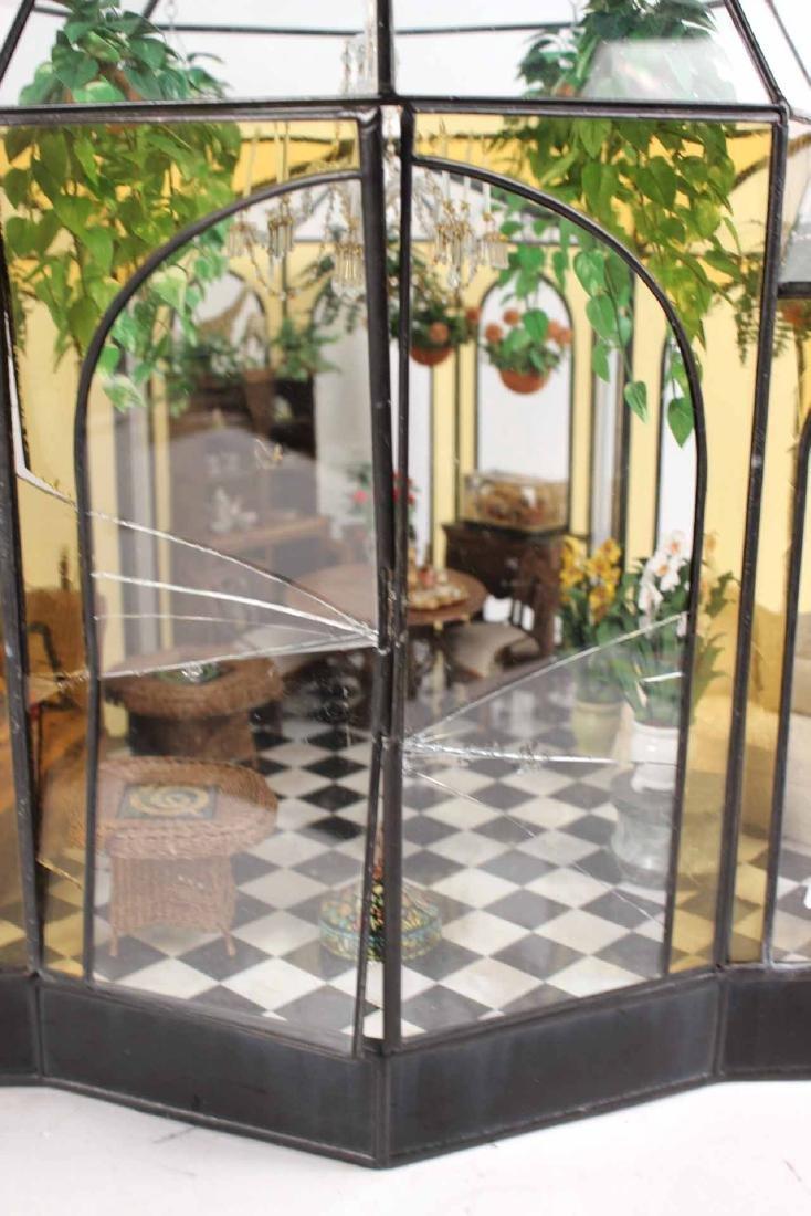 Diorama in Glass Atrium with Furnishings - 6
