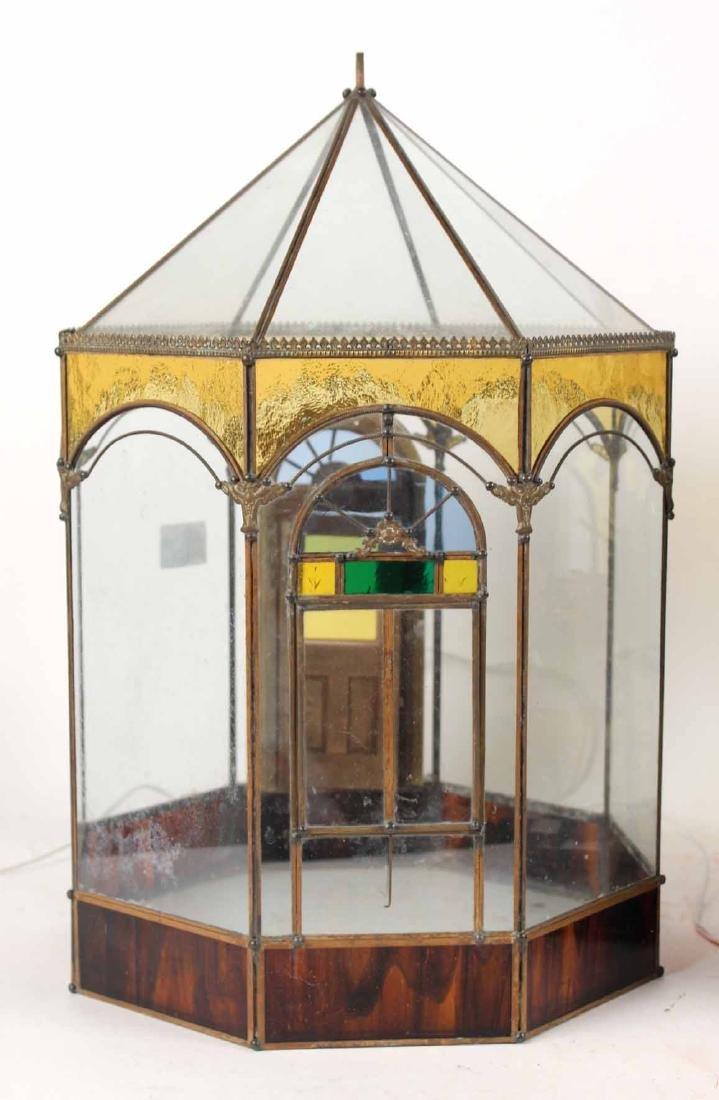 Diorama in Glass Atrium with Furnishings - 8