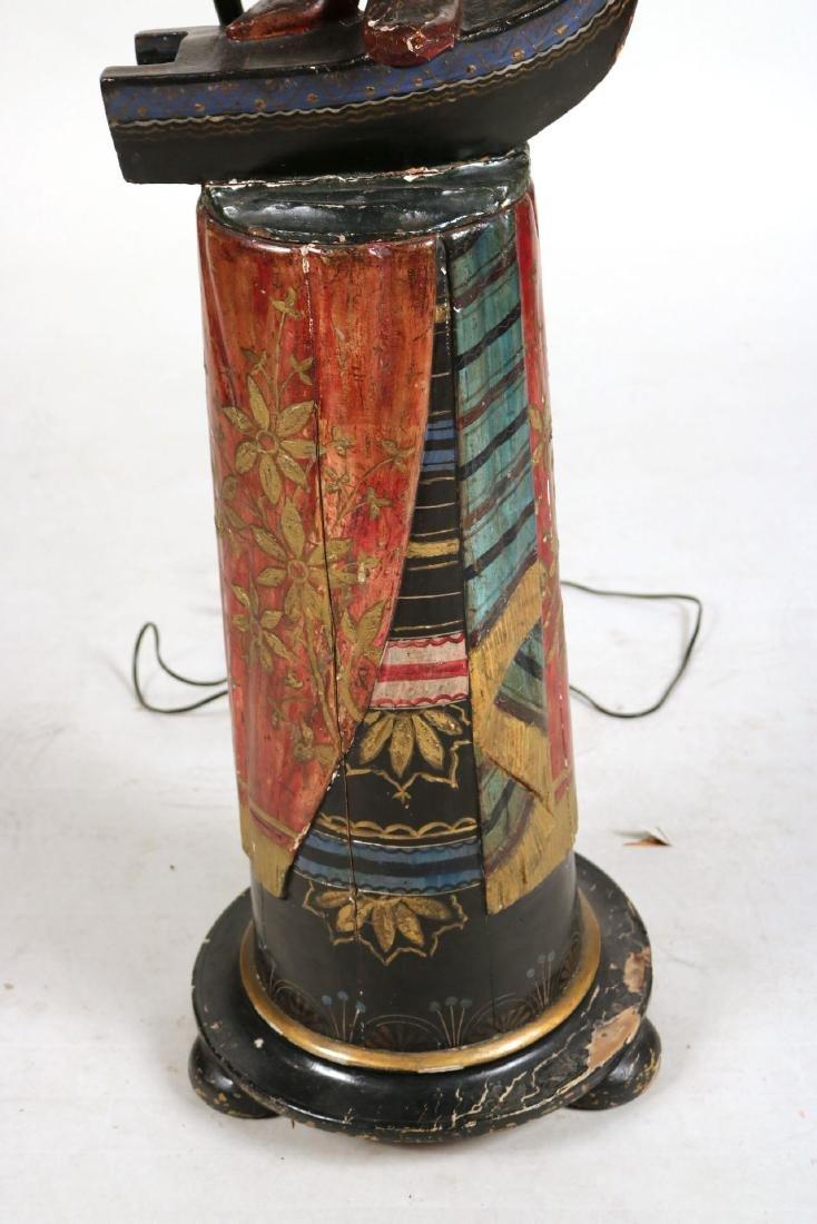 Painted Blackamoor Floor Lamp - 6