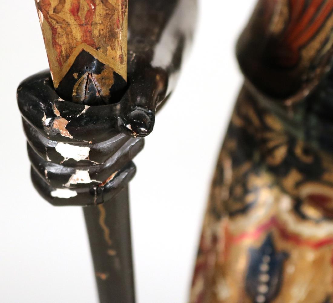 Painted Blackamoor Floor Lamp - 8