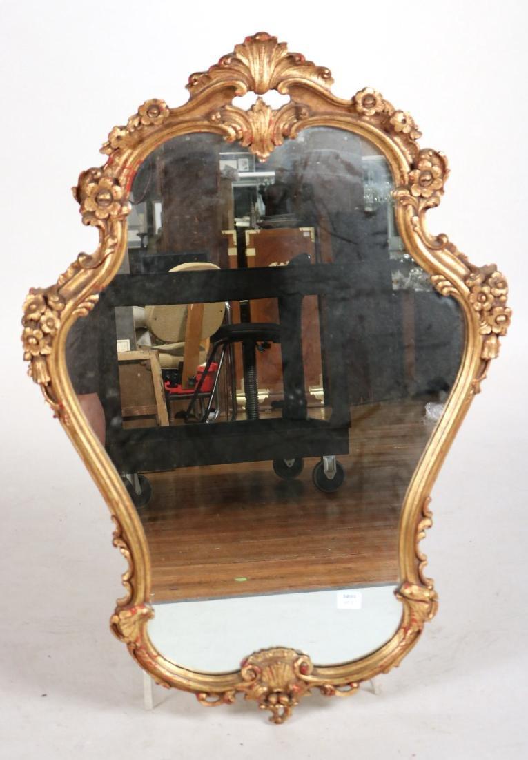 Louis XV Style Giltwood Pier Mirror