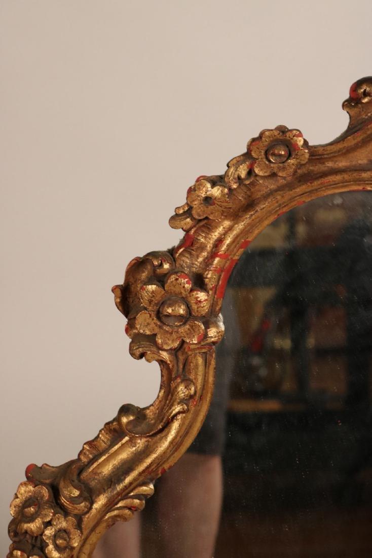 Louis XV Style Giltwood Pier Mirror - 3