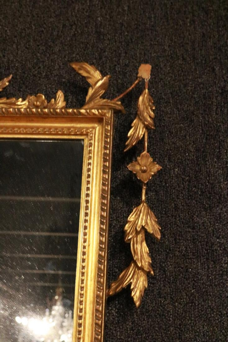Neoclassical Giltwood Overmantel Mirror - 4