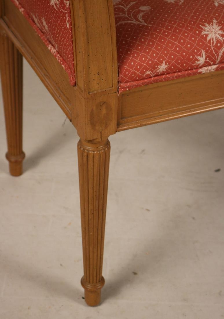 Louis XVI Style Beechwood Window Seat - 4