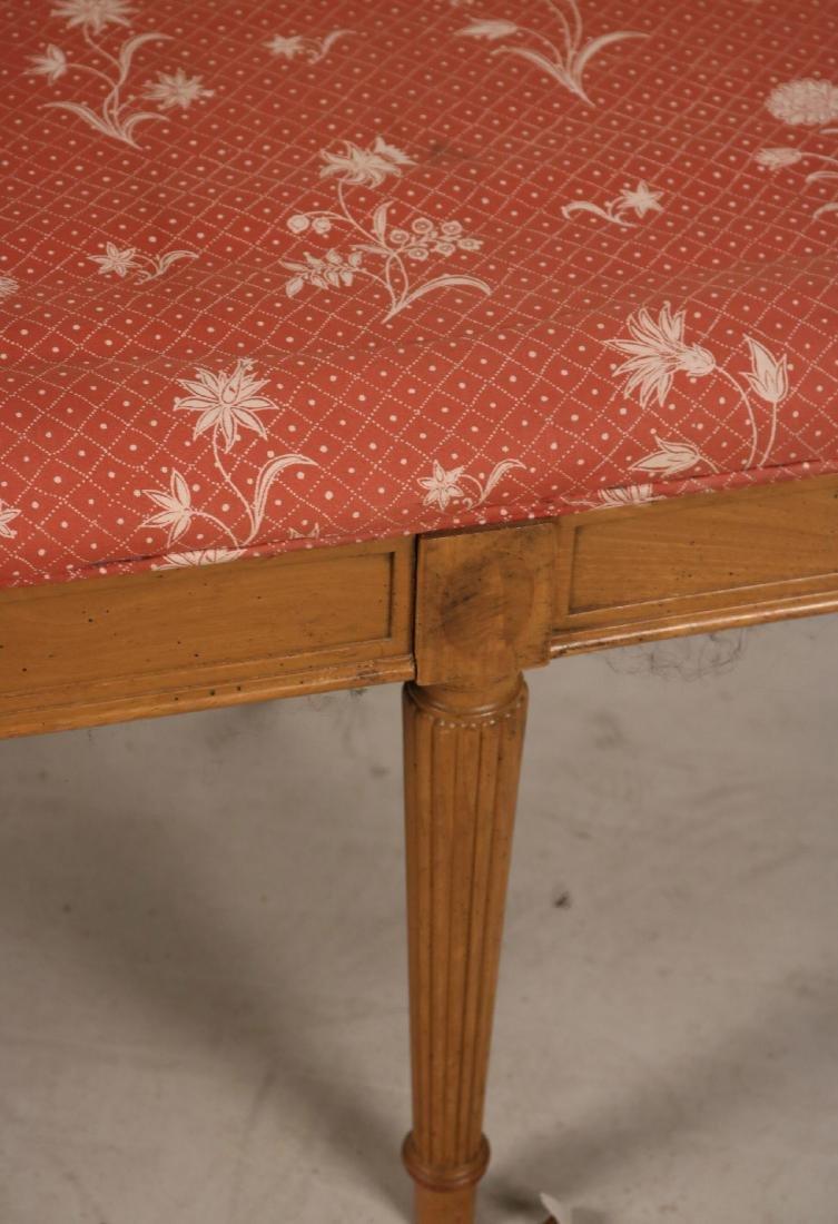 Louis XVI Style Beechwood Window Seat - 5