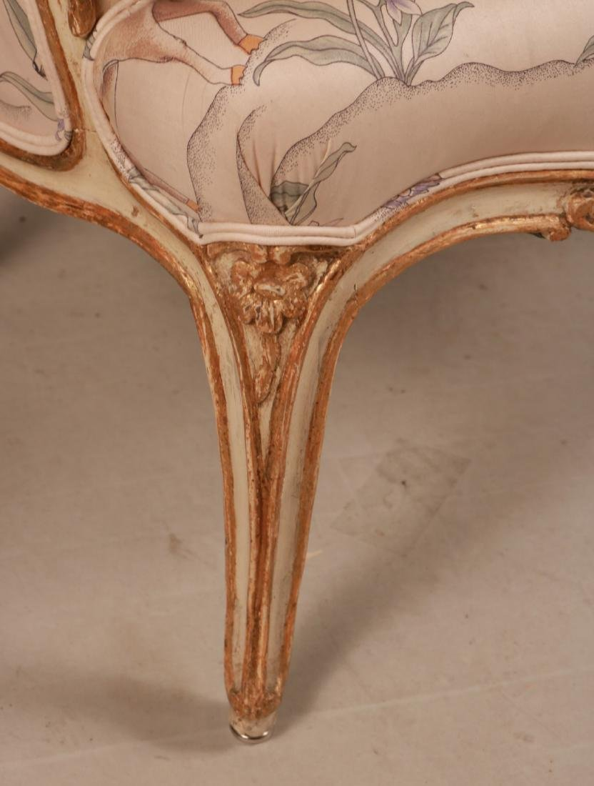 Louis XV Style Paint-Decorated Bergere - 2