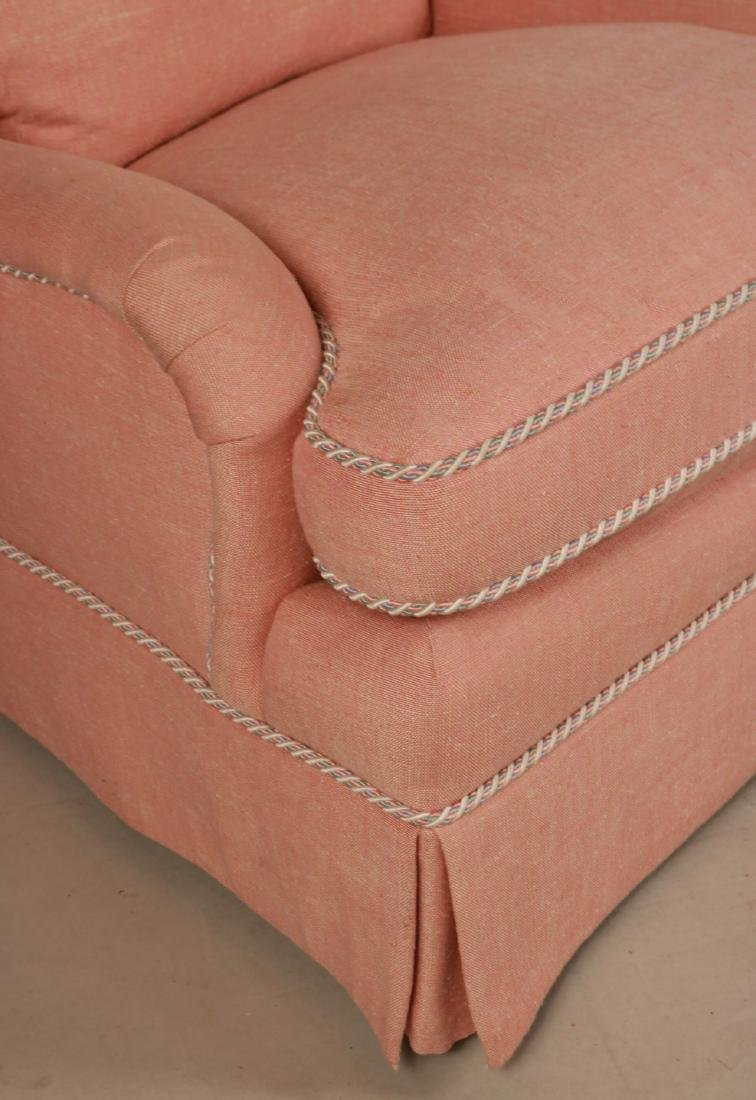Two Pink-Upholstered Club Chairs - 3