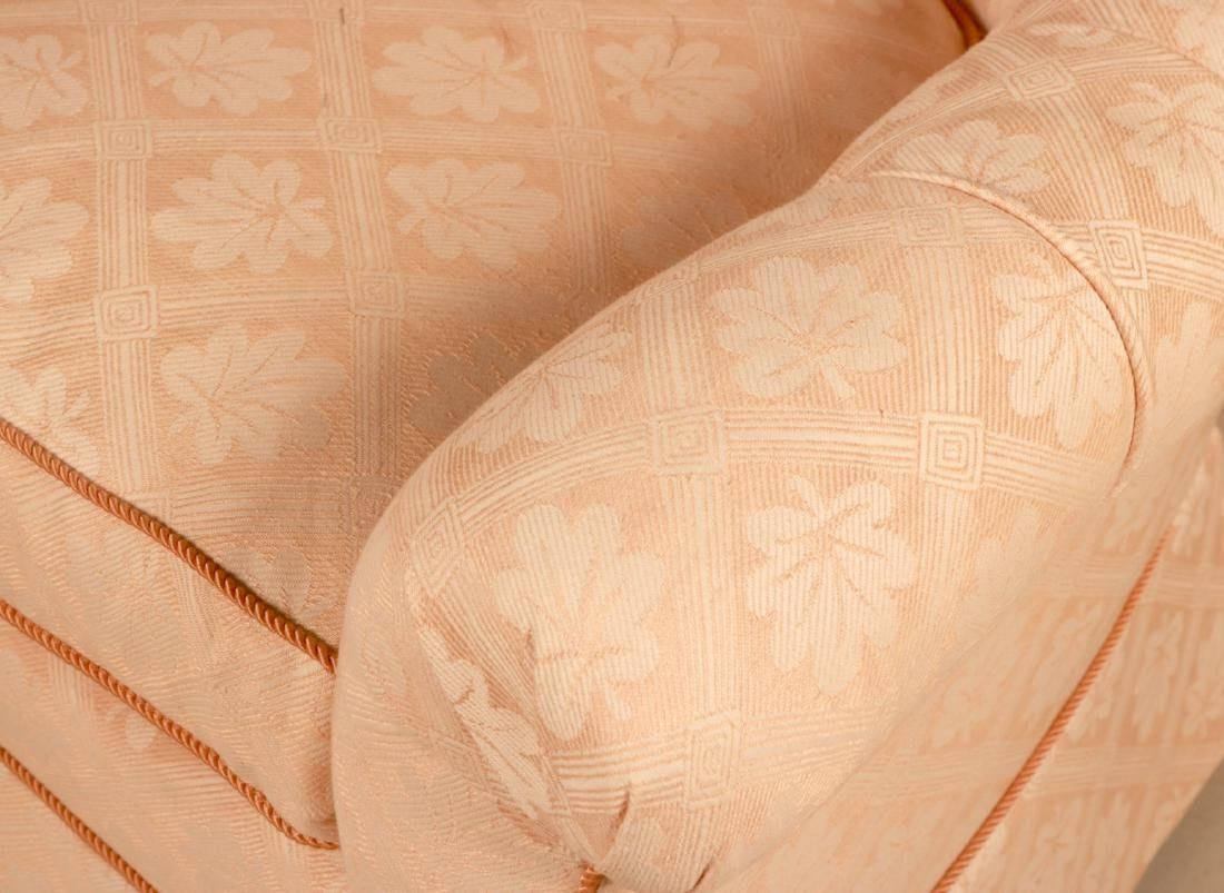 Two Pink-Upholstered Club Chairs - 7