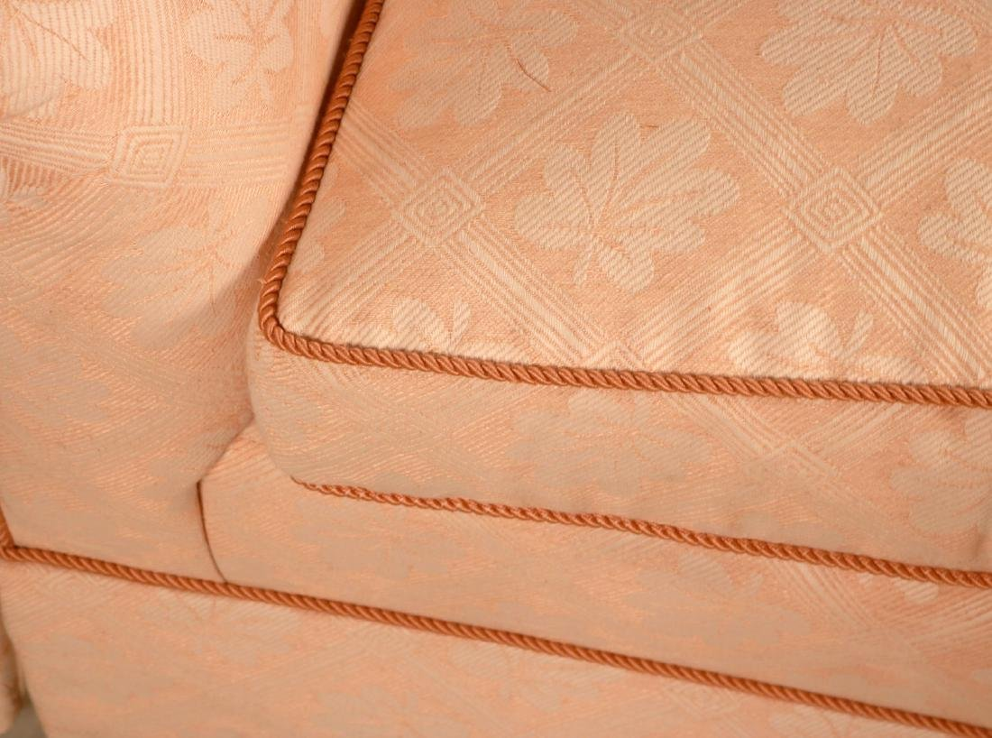 Two Pink-Upholstered Club Chairs - 8