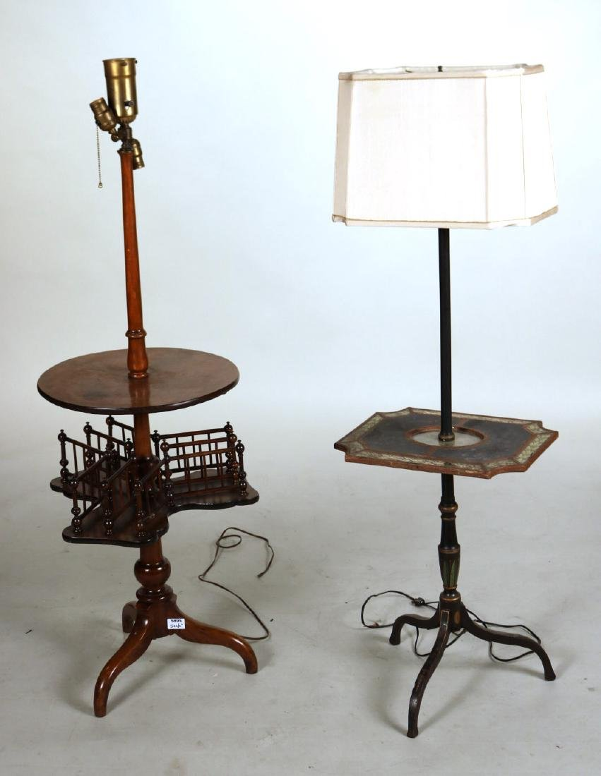 Two Table Floor Lamps