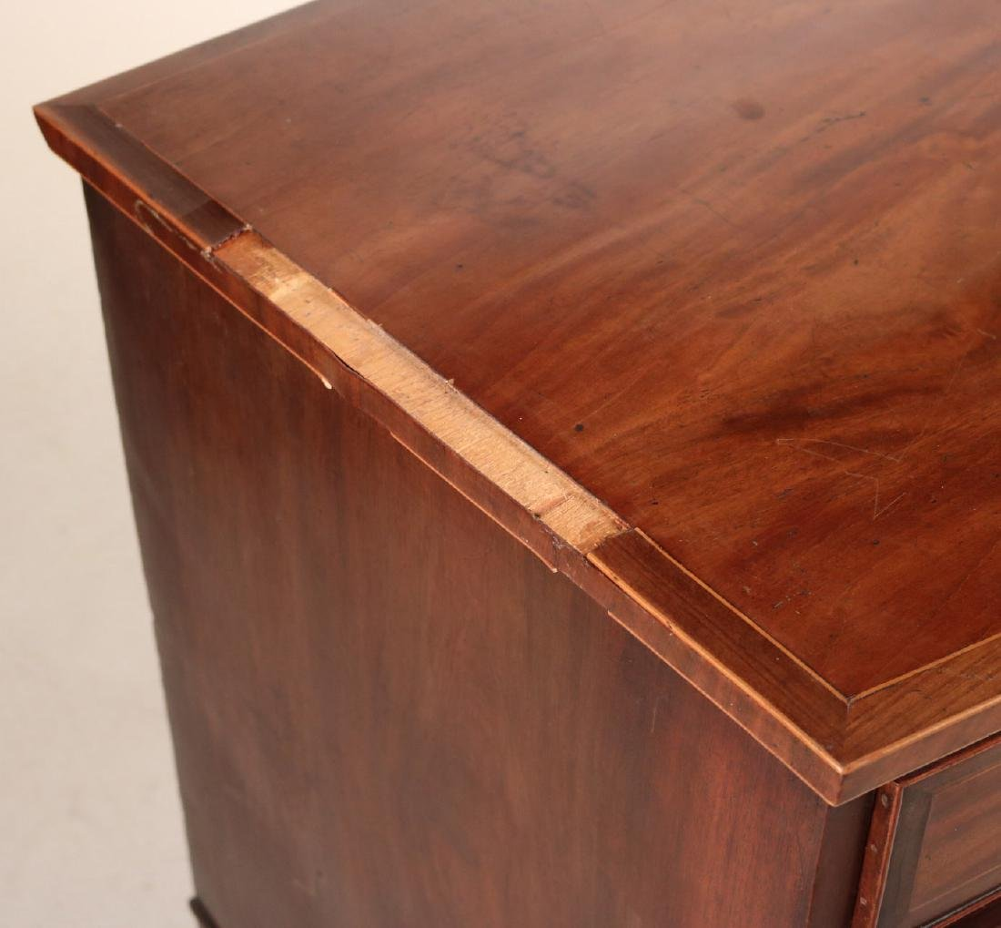 Federal Style Inlaid Mahogany Chest of Drawers - 2