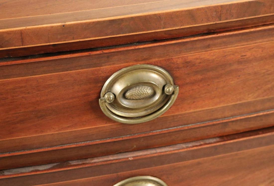 Federal Style Inlaid Mahogany Chest of Drawers - 4