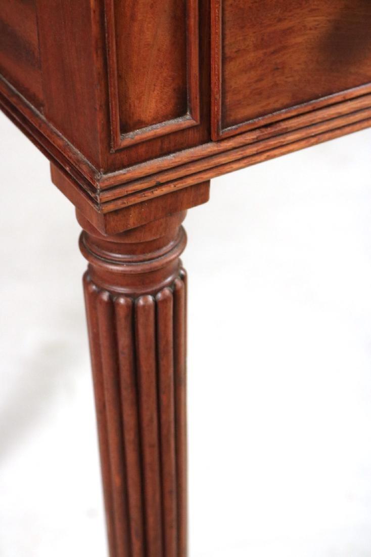 Regency Style Leather-Inset Mahogany Writing Desk - 6