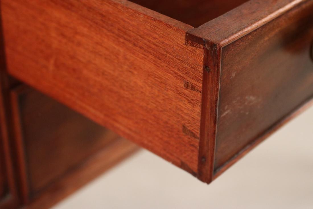 Regency Style Leather-Inset Mahogany Writing Desk - 7