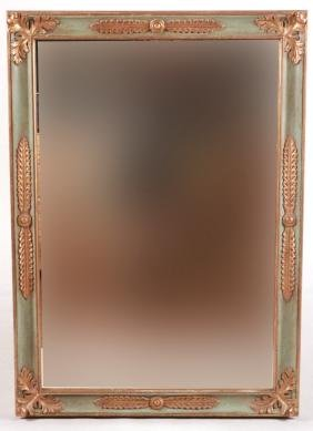 neoclassical style paint decorated mirror - Decorated Mirror
