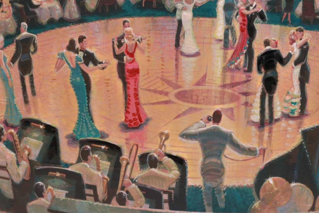 Oil on Board, Dance Hall, Michael Young - 3