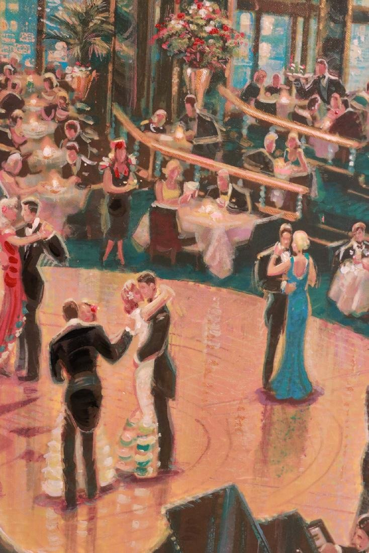 Oil on Board, Dance Hall, Michael Young - 5