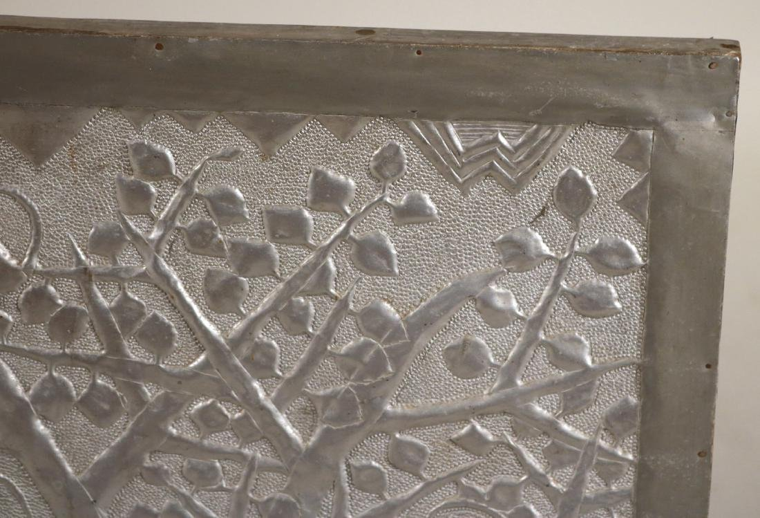 Primitive Style Punched Tin Wall Panel - 2