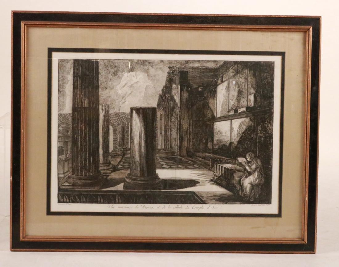 Architectural Etching, Giovanni Piranesi