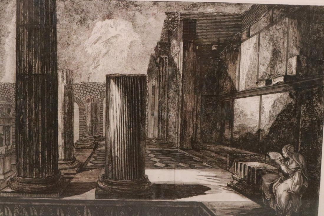 Architectural Etching, Giovanni Piranesi - 2
