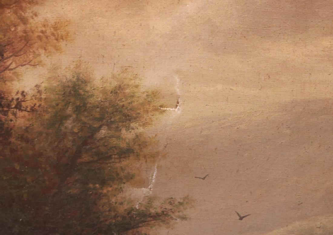 Oil on Canvas, Riverscape, B.T. Griffiths - 3