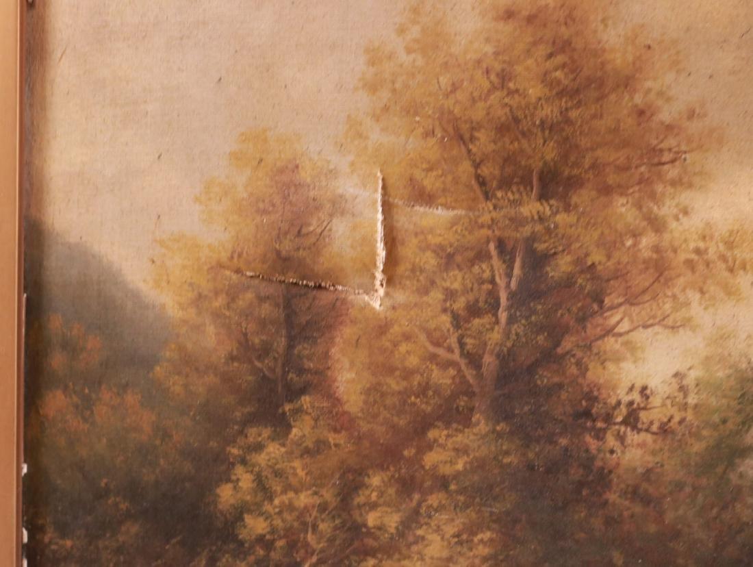 Oil on Canvas, Riverscape, B.T. Griffiths - 4