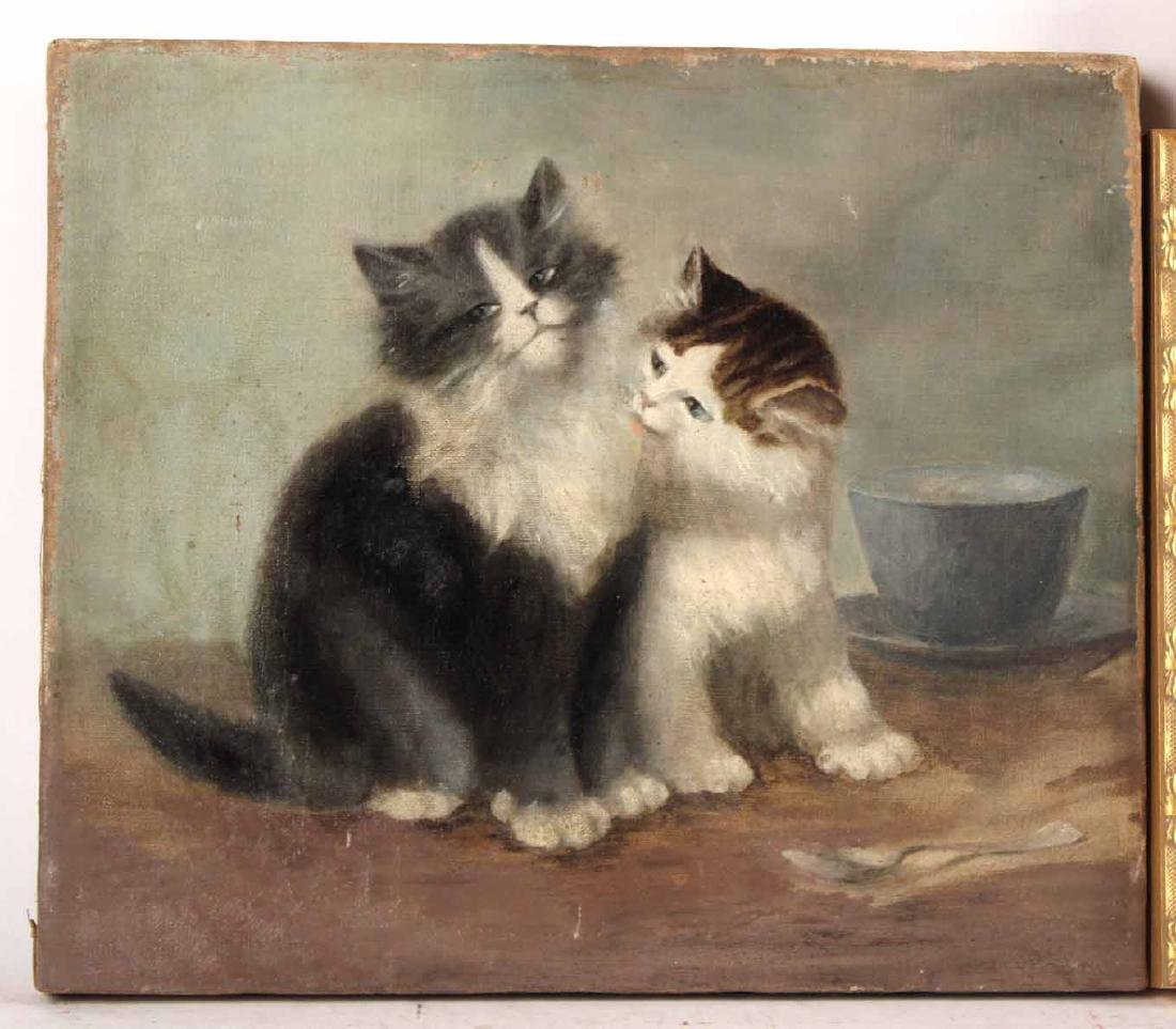 Three Paintings of Cats - 2