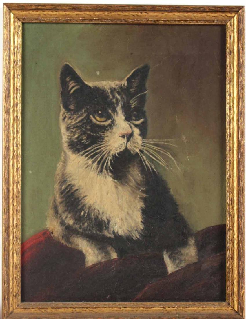 Three Paintings of Cats - 5