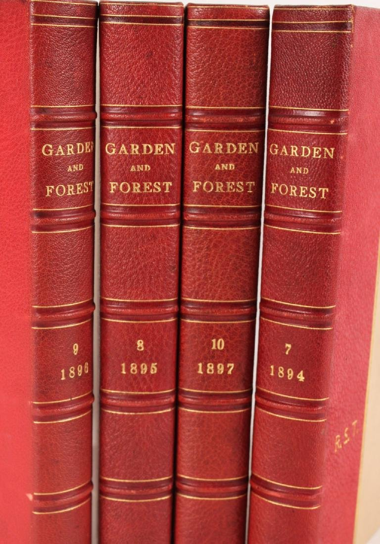 "Four Volumes ""Garden and Forest"" 1894- -1897 - 2"